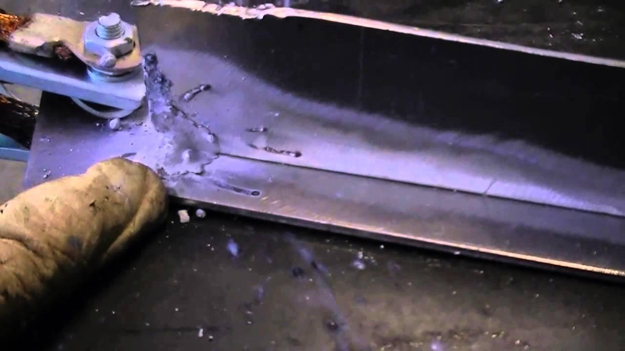 Stick Welding Aluminum with an Everlast DC inverter Po  Doovi