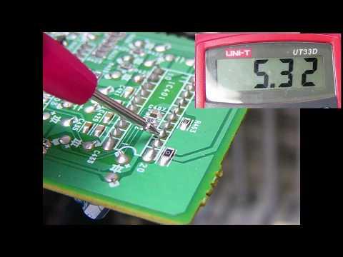 Método para reparar un equipo de sonido