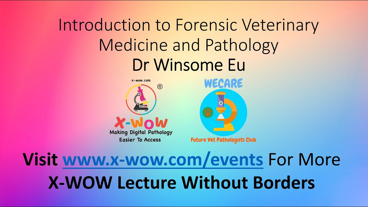 Introduction To Forensic Veterinary Medicine And Pathology By Dr Winsome Eu Youtube