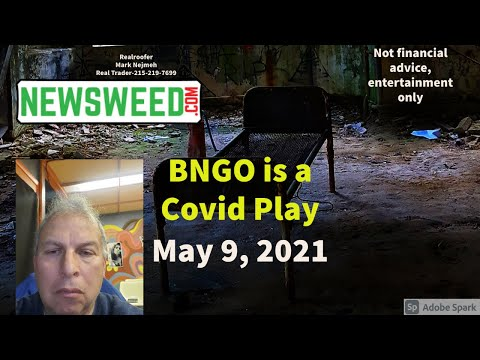 BNGO BUY NOW? Covid-19 play? BNGO with Blackrock and The President Biden Administration