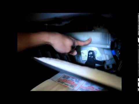 Superieur 2010 2015 Toyota Prius Cabin Air Filter Replacement