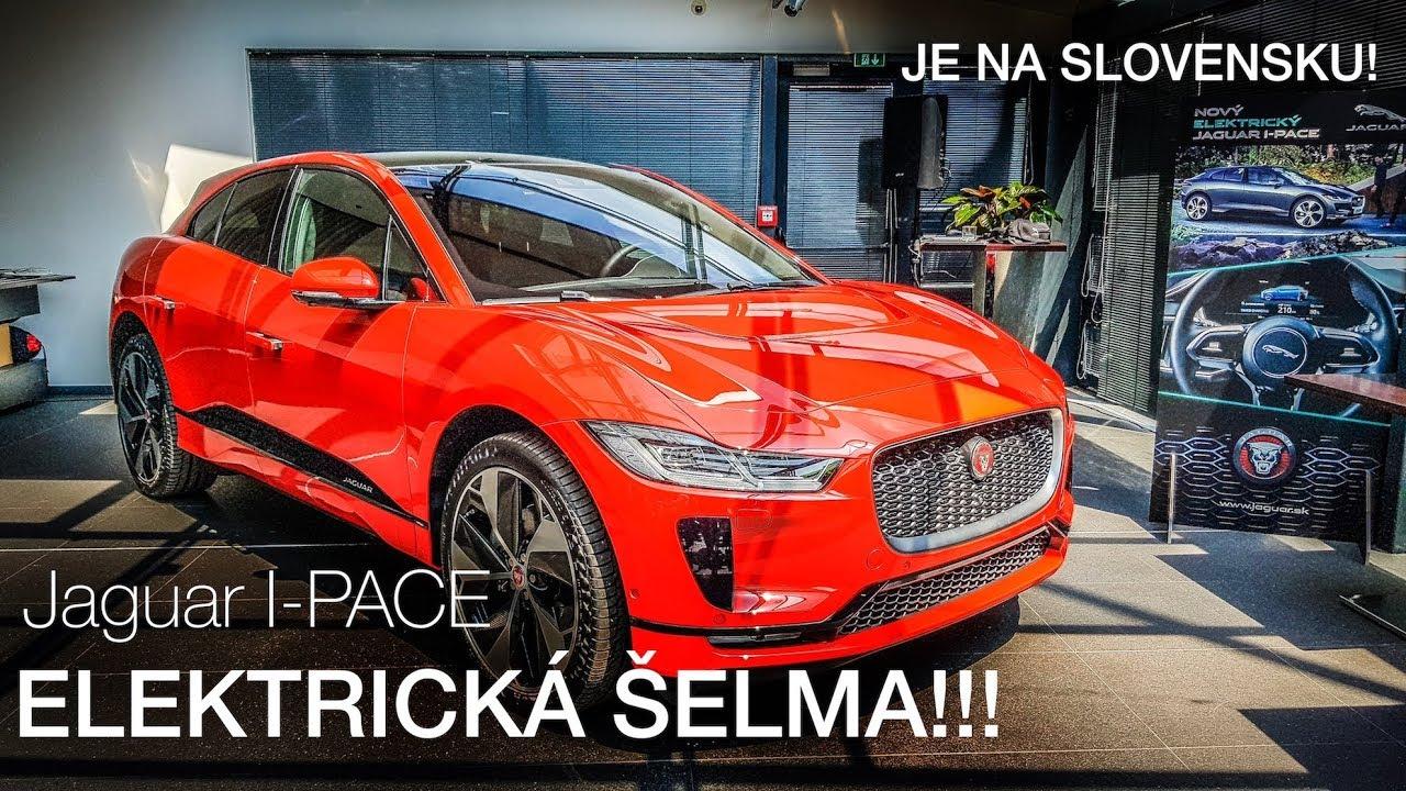 Elektrická šelma na Slovensku! - Jaguar I-PACE naživo - YouTube 7c9a5954b14