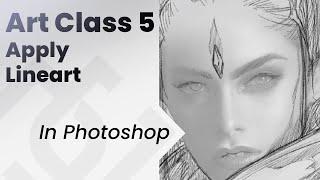 Art Class 5 Talent Vs Discipline _ making lineart