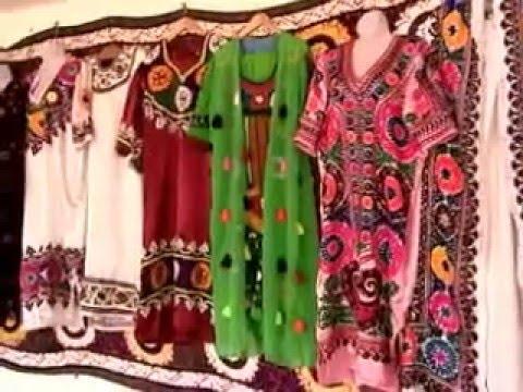 Tours-TV.com: Traditional Tajik Women's Dresses