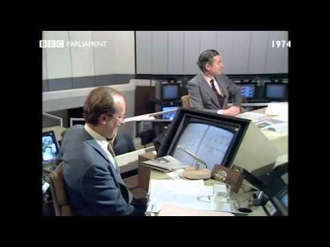 General Election October 1974: Robin Day calls for Polls to be banned during election campaigns