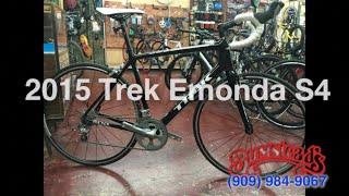 2015 Trek Emonda S4 Carbon Road Bike Review | Bumsteads Bicycles