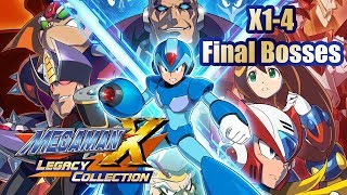 Mega Man X Legacy Collection 1 - Final Bosses (My First Kills)