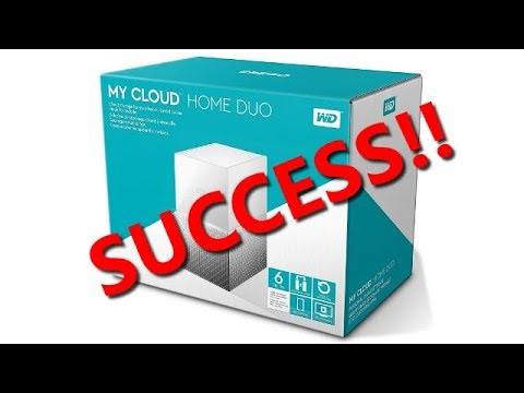 PBK0044 - Western Digital 6TB My Cloud Home DUO - Unboxing, setup & review (PART 2)
