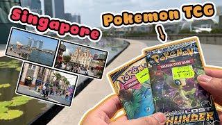 Mở Pokemon TCG phong cách đi du lịch Singapore với AKT