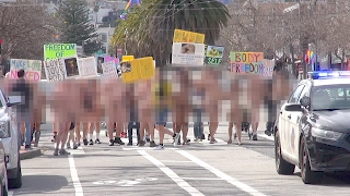 2nd Annual San Francisco Valentines Nude Love Parade 2017 (Warning: Nudity, non-sexual)