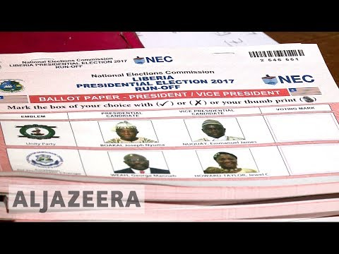Liberia waits for runoff election preliminary results