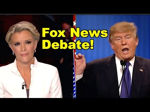 Fox News Debate! Trump, Megyn Kelly, Rubio, Cruz, Kasich Debate! LV Republican Debate Clip Roundup