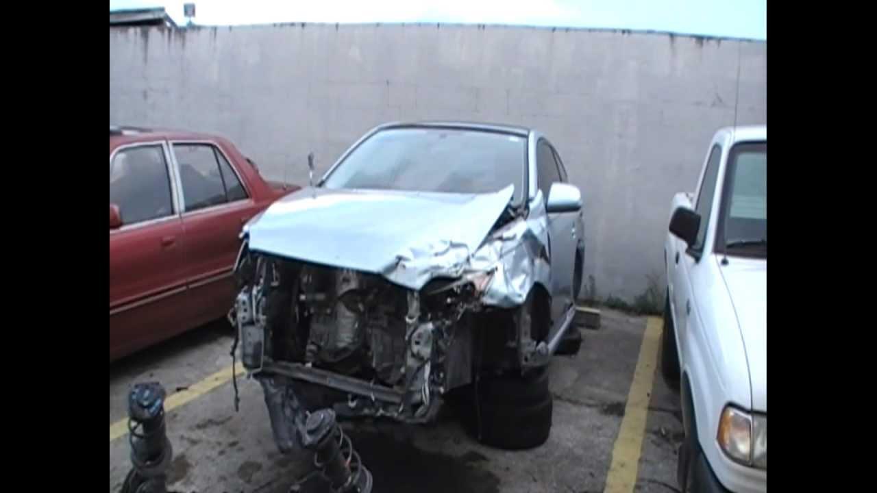 Wrecked 2007 Scion Tc Toyota Scion Tc Used Auto Parts For Sale
