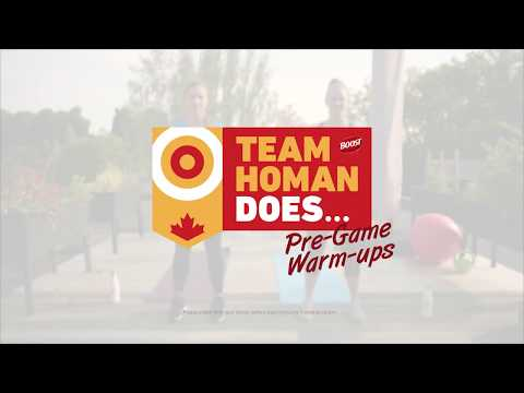 Team Homan Does… Pre-Game Warm-ups – NEW SERIES BY BOOST®