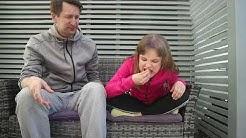 Tytär vs. Isä haaste nro.1 - Sitruunan syöminen ilman ilmeen värähtämistä