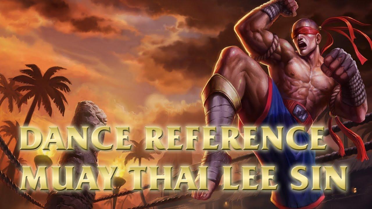 muay thai lee sin tony jaa training league of legends