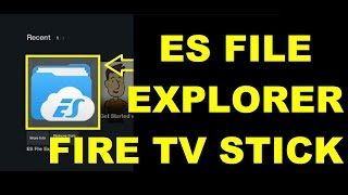 Gambar cover how to download and install ES File Explorer in Fire TV Stick