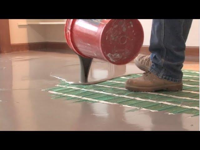 Floor Heating Under Luxury Vinyl Tile