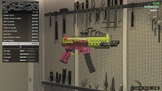 GTA Online New Gunrunning Weapon Upgrades and Test Fire