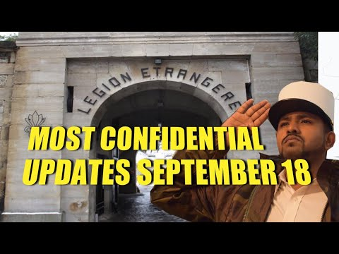 MOST CONFIDENTIAL UPDATES FRENCH LEGION SEPTEMBER 2018