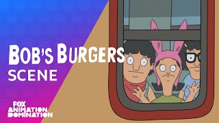 The Belchers Are Sent To The Back Of The Train | Season 4 Ep. 15 | BOB'S BURGERS