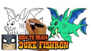How to Draw Duke Fishron | Terraria (Art Tutorial)