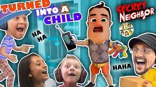 Download HELLO NEIGHBOR is a KID!! Hide n Seek 4 Player Basement Escape Game (FGTEEV Skit) Mp3 and Videos