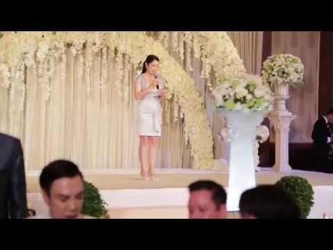 พิธีกรงานแต่งงาน MC Kwang (TH-EN) / MC for Wedding at Peninsula Bangkok