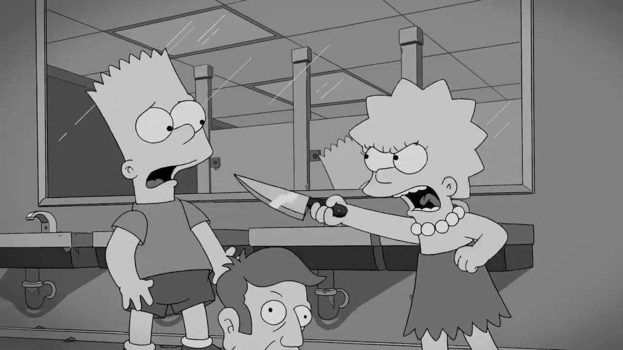 Homer kills Bart by AVRICCI on DeviantArt