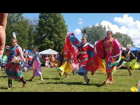 Canada  Native Peoples' Traditional Dances(Pow Wow) Competition