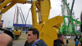 Video still for Komatsu PC4000  at bauma 2019