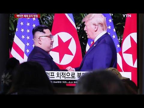 Kim Jong-un é elogiado por Donald Trump após revelar ameaça