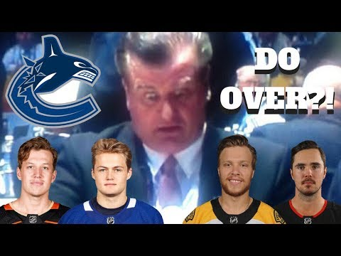 WHAT IF THE VANCOUVER CANUCKS DRAFTED BETTER?? | NHL 18 | ARCADE REGIMENT