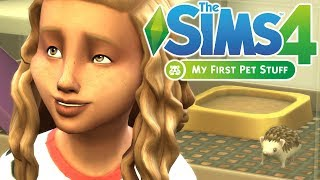 RABID RODENT - The Sims 4 My First Pet Stuff | Gameplay First Look