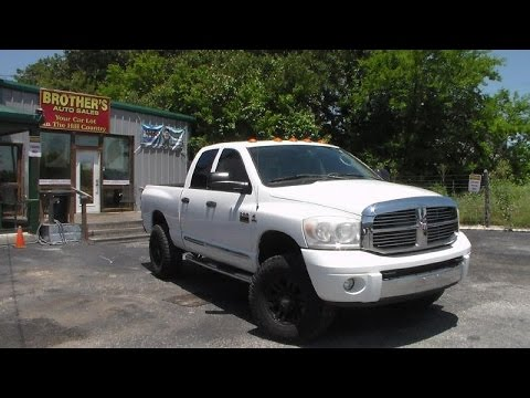 2008 Dodge Ram 2500 Laramie Cummins Review