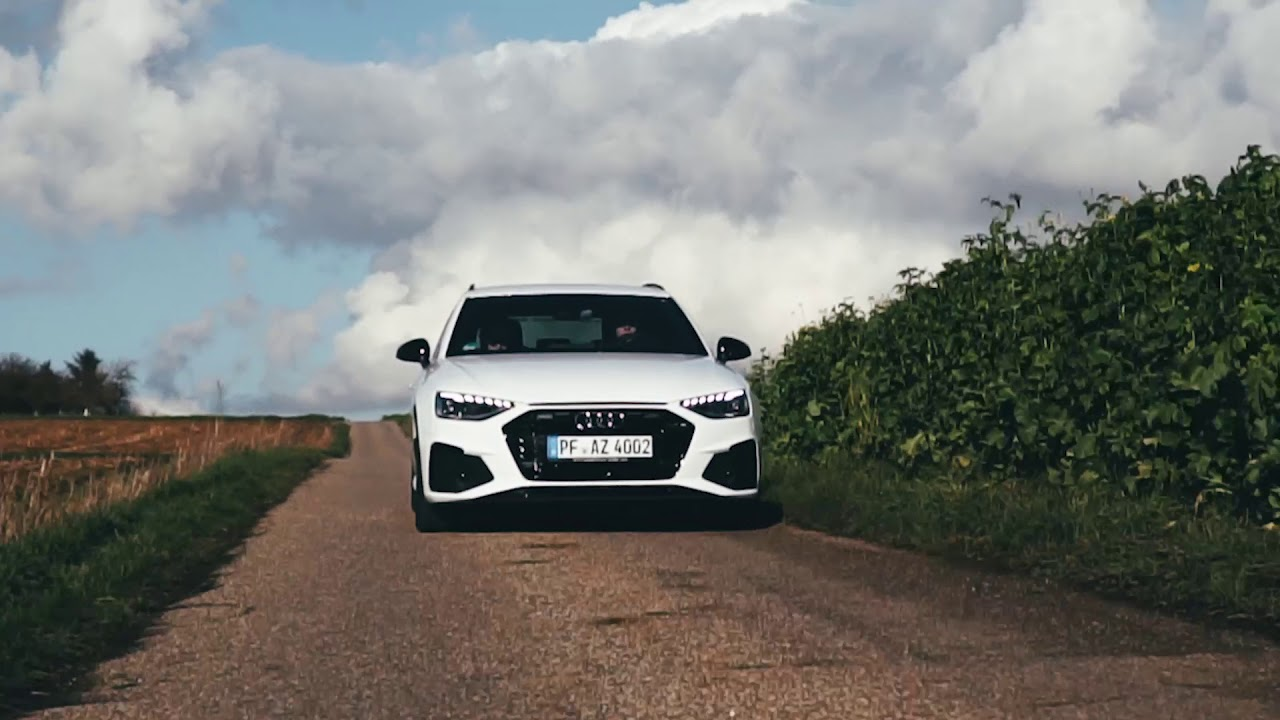 2020 Audi A4 S Line Edition 40 Tdi Black White Avant Youtube