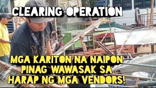 Manila Update Mga Kariton Pinag Wawasak Na