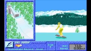 The Games: Winter Challenge - Intro and ski jump practice