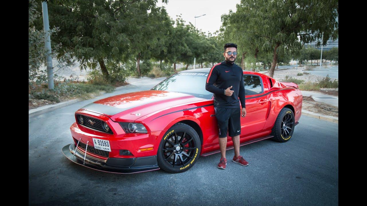 The Red Hulk Ford Mustang S197 V6 Mohammed Nabeel