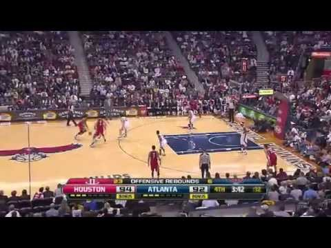 NBA Houston Rockets vs Atlanta Hawks Highlights | 11/2/2012