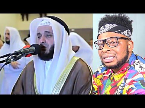 CATHOLIC REACTS TO Recitation Of Tears Of The Hood Of Sheikh Mashary Bin Rashid Aallasi - EMOTIONAL