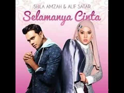 Shila Amzah[Lirik] - Selamanya Cinta with Alif Satar