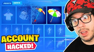 So I Hacked Typical Gamer's Fortnite Account...