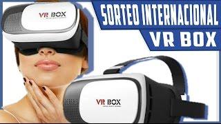 SORTEO INTERNACIONAL!!! GAFAS DE REALIDAD VIRTUAL VR BOX   Ft.Andro Ander Tec