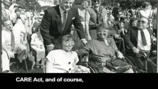 Senator Edward M. Kennedy - Champion of Disability Civil Rights (part 1)