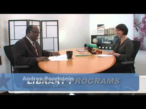 WGTV WHAT'S HAPPENING AT THE WAKE COUNTY LIBRARIES