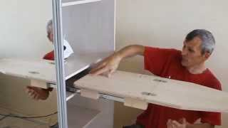 Как сделать гладильную доску-трансформер
