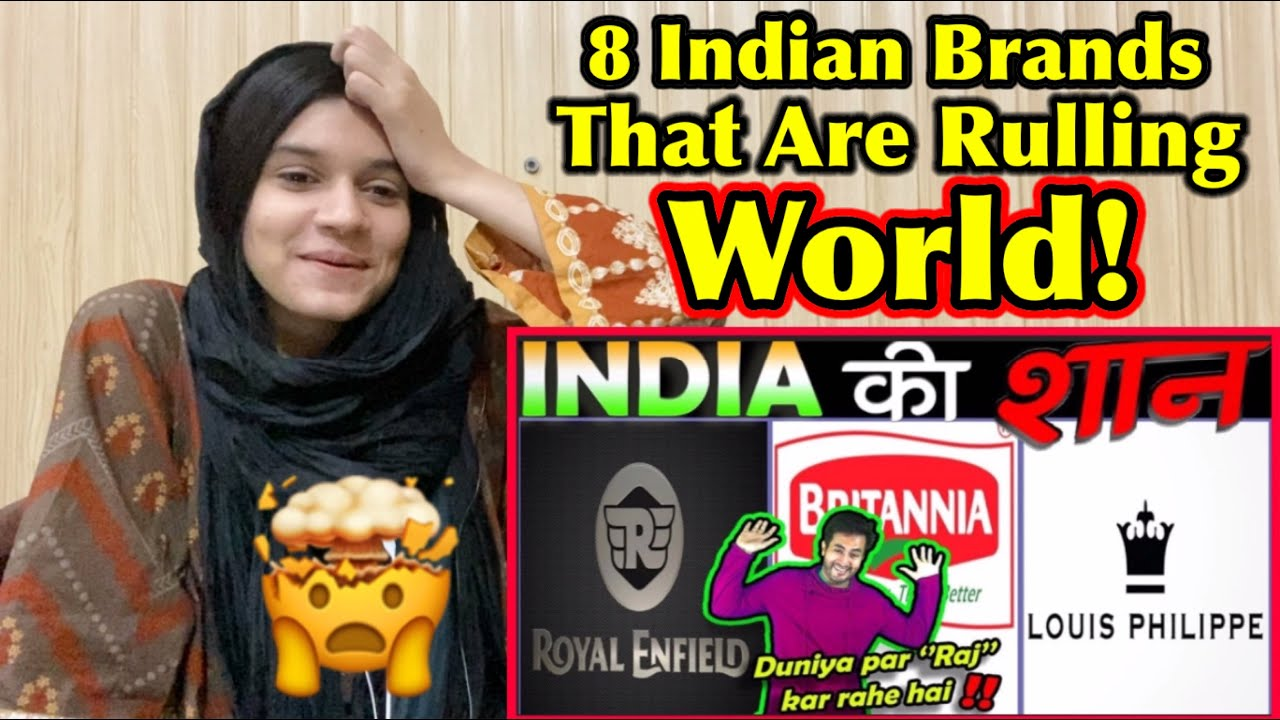 Pakistani Reacts to 8 Indians Brands Who Are Ruling The World !!!