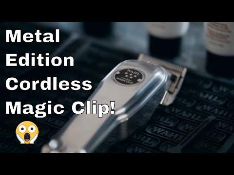 Wahl Metal Edition Cordless Magic Clip