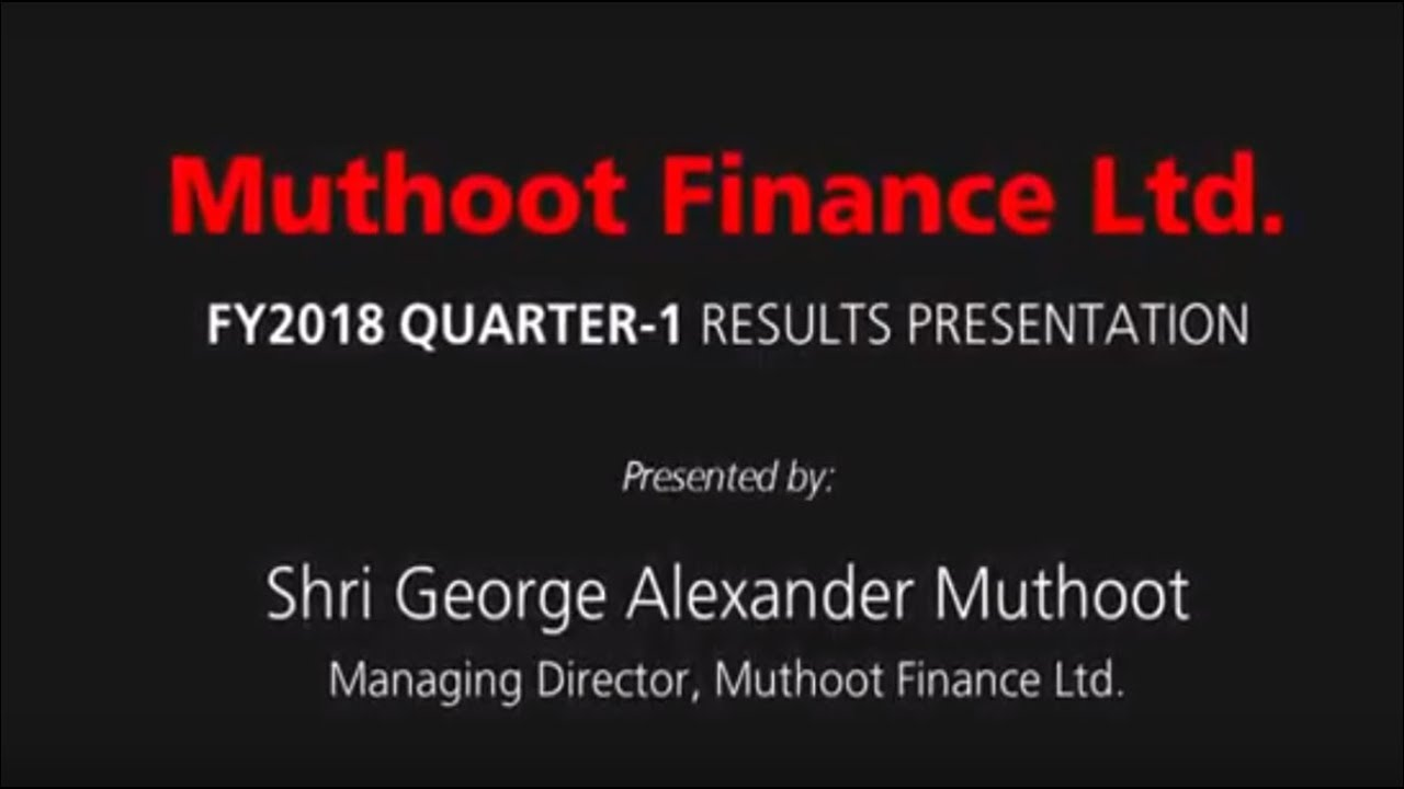 muthoot finance Muthoot finance uk ltd 451 likes we provide loan against gold from 275% per month on extremely easy terms no credit check required your loans are.